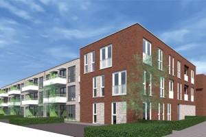 Nieuwbouw 37 appartementen Hardenberg
