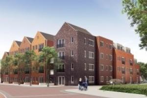 Nieuwbouw 27 appartementen Meppel