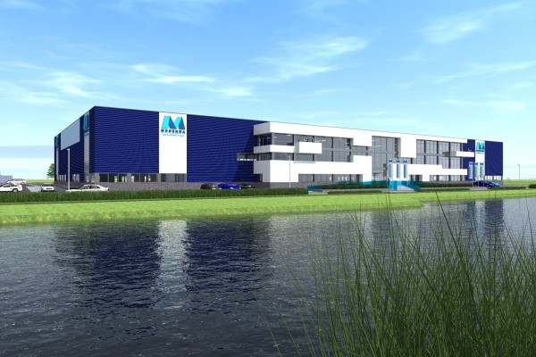 Nieuwbouw Moderna Textielservice