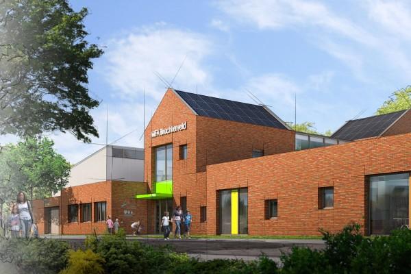 Nieuwbouw MFA Bruchterveld