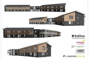 Nieuwbouw 24 appartementen Hoogenweg